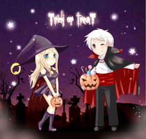 Trick or Treat - para Anary by Rypay