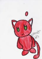 me chao mew by beccakitten