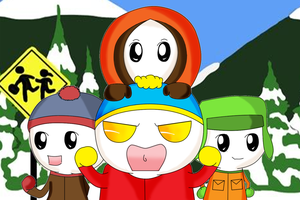 South Park Onion Heads by Neko-CosmicKitty