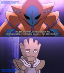 One Punch Mon: Lord Deoxys by Mgx0