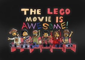 The Lego Movie is Awesome! by Neotomi