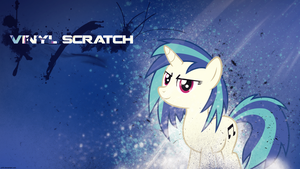Vinyl Scratch - Wallpaper by P3r0