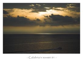 Calabria's sunset 01 by frescendine