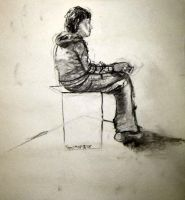 Life Drawing VIII by KerrithJohnson