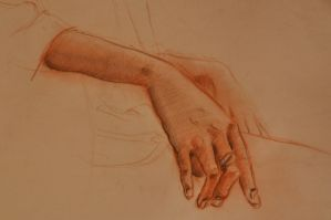 Unknown Hand Study by gtothemaximpower