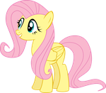 Fluttershy Vector by Dropple-RD