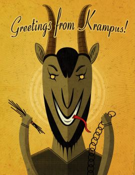 Krampus is coming! by Octop1
