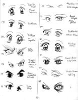 Anime eyes-170-183 by mayshing