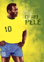 Pele Portrait by FrnzHauser