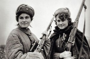 Female Soviet Snipers by himymRobinStinson