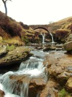 Peak District - Three Shires Head by PhilsPictures