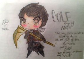 Chibi Cole! by mango-shiro