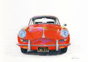 Porsche 356 late model by klem