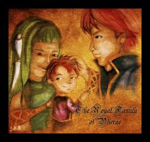 The Royal Family of Pherae by kageshoujo