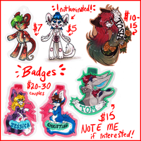 Traditional.Badge.Prices::..+ by Uriko44