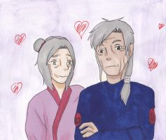 SodaiMiha (Shippuden) not too old for love by TamandOmar4ever