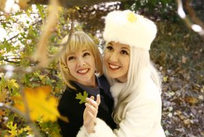 Saber and Iris: Songs We Sung by FoxGlovesCosplay