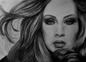 Adele.. by candysamuels