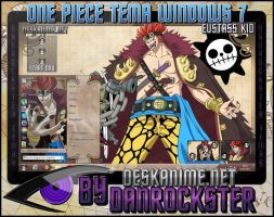 Eustass Kid Theme Windows 7 by Danrockster
