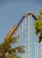Millennium Force Roller Coaster by TheWizardofOzzy