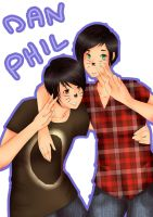 Dan and Phil by Henriettapink