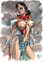 The ambassador of Themyscira by AllPat