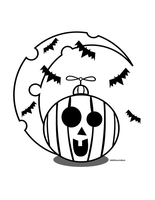 Spooky-Halloween-Coloring by lyssagal