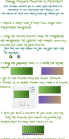 Making Painless Colour Palettes in Photoshop by pagangirl1986