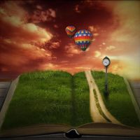 surreal storybook dreamscape by cytherina