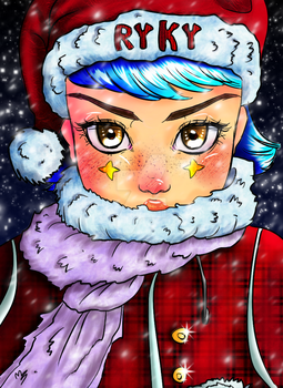 Christmas Coloring Contest By Ryky-daqyhjc by ArtistLoading
