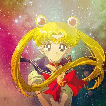 Sailor Moon S - Final by Stephanie-Nome