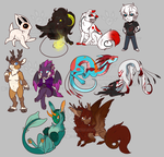 [GIFT] a bunch of tiny holiday gifts by TabithaKattoa
