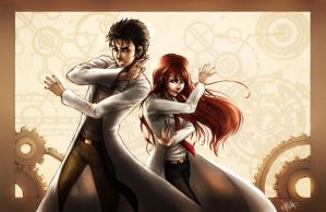 Steins Gate by Dreamerwhit95