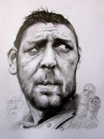 Russell Crowe by Damion009