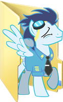 Custom Soarin folder icon 2 by Blues27Xx