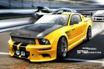 ford mustang RACE by yasiddesign