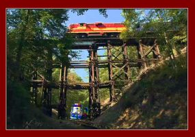 Historic L and N Hiwassee Loop by Dtullock