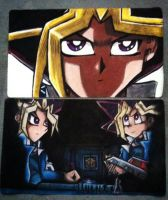 Yu-Gi-Oh mats i made for me by DrGengar