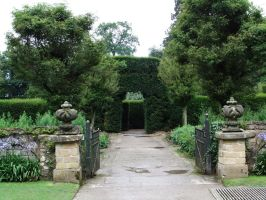 Formal Garden Entrance 02 by fuguestock