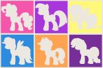 Mane Six by Kunstlerromanable