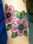 Sleeve progression - flowers. by Miss-Reptilian