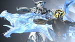 Cold and Gold : Frost Dragon Style by PuzzlerDK
