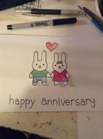 Anniversary Card by casrakell