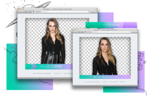 Pack Png 1037 // Cara Delevingne by ExoticPngs