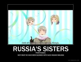 Russia's sisters by burgercream