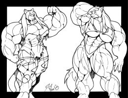 Muscle Growth Contest by PS286