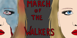 March of the walkers icon by kirstleberry
