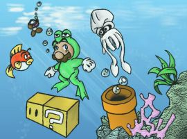 Super Mario Bros. 3--World 3-1 by Green-Mamba