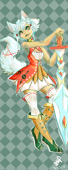 Kitsune Character Design by Scorched-FoxFire