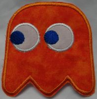 Clyde Iron On Patch by quiltoni